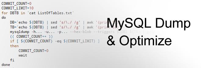 14403552914603 کانفیگ و بهینه سازی Mysql دیتابیس سرور