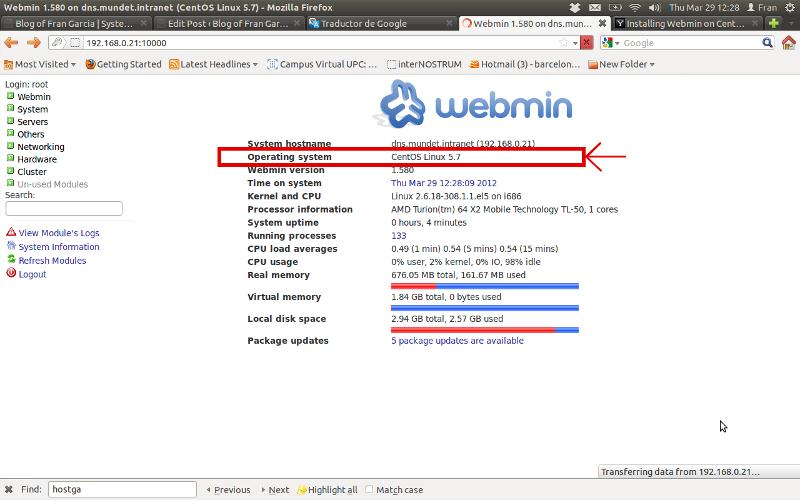 14401766617656 کانفیگ وب مین Webmin