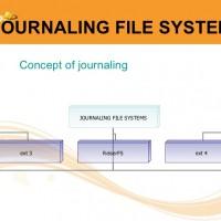 آشنایی با Journaling در سیستم های فایل