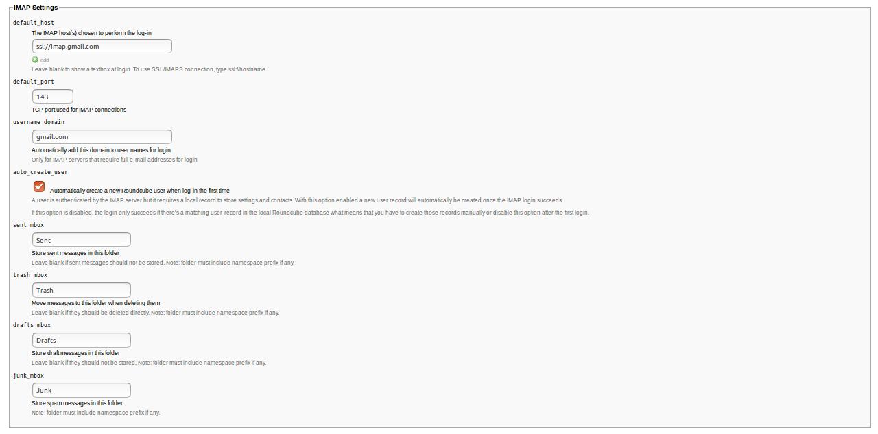 15568927536446 آموزش نصب و کانفیگ وب میل Roundcube بر روی لینوکس Ubuntu 18.04 LTS