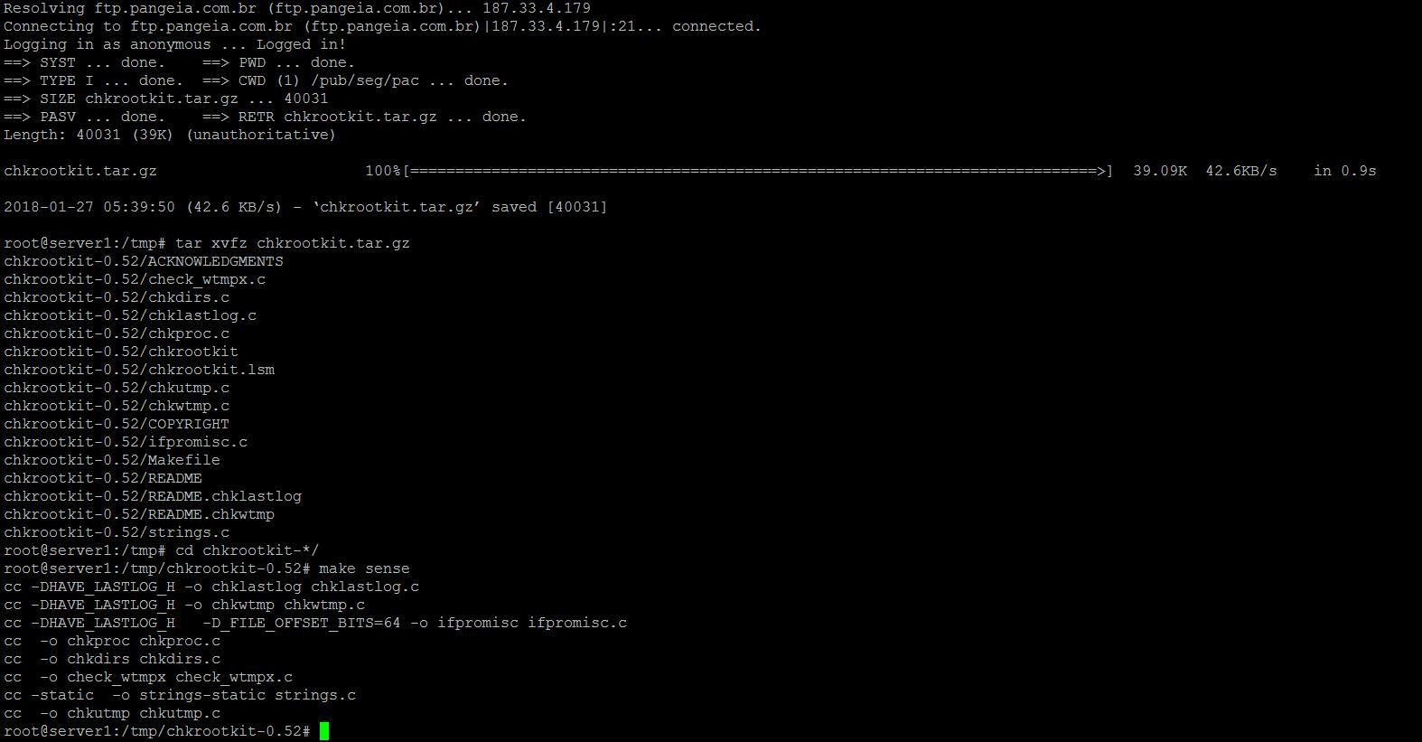 15569588879671 آشنایی با سه ابزار امنیتی جهت شناسایی ویروس ها و maleware ها در لینوکس