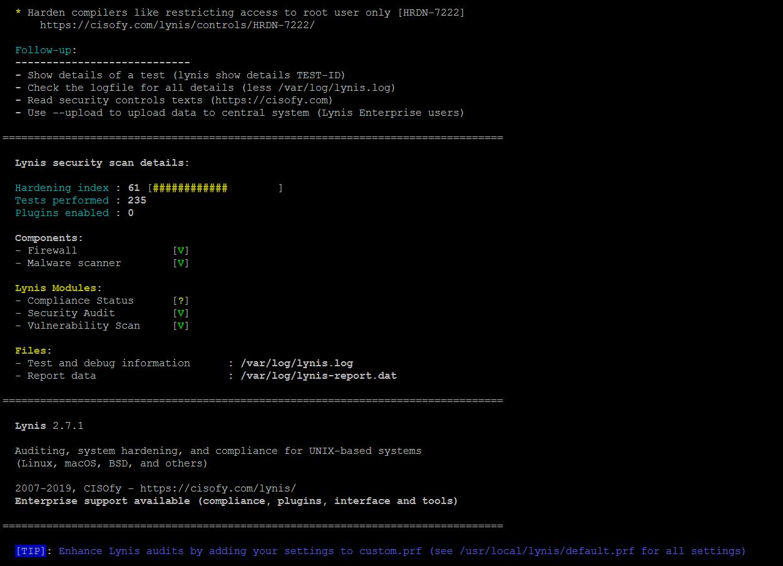 15569597865237 آشنایی با سه ابزار امنیتی جهت شناسایی ویروس ها و maleware ها در لینوکس
