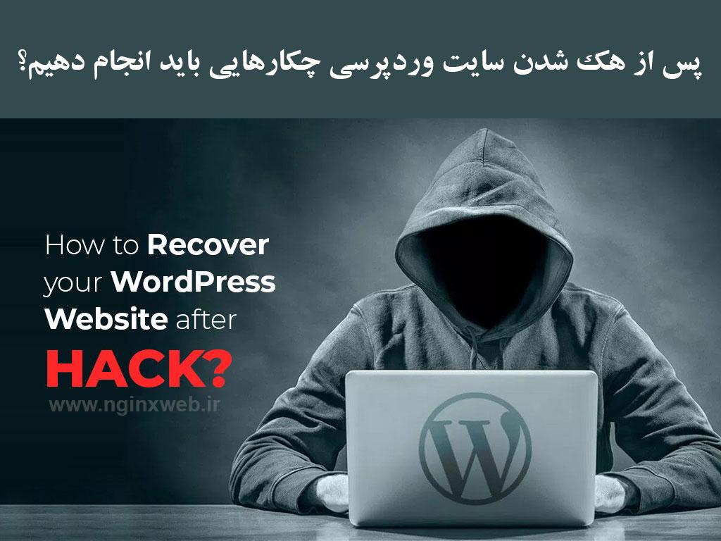 15580294542944 اگر سایت وردپرسی ما هک شد چه کارهایی باید انجام دهیم؟ (گام به گام)