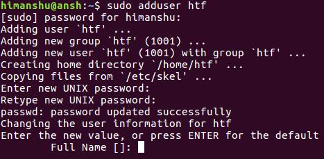 15588582343540 آموزش دستورات لینوکس adduser  addgroup جهت مدیریت کاربران