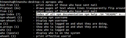 15591160834842 آموزش دستورات لینوکس   آشنایی با دستور apropos