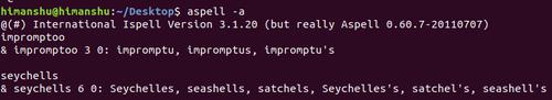 15600606119518 آموزش دستورات لینوکس   آشنایی با دستور aspell