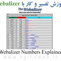 آموزش کار با آمارگیر Webalizer و تفسیر اعداد و آمار دقیق ترافیک